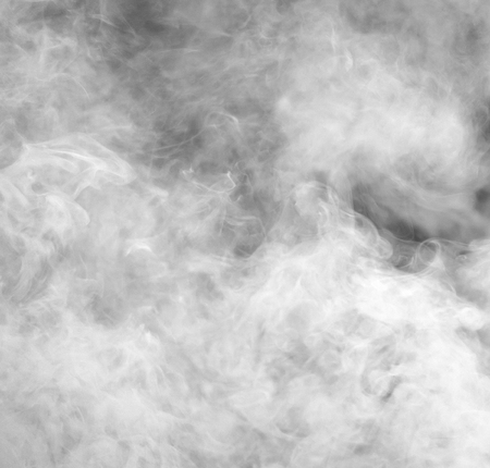 Abstract smoky background. White smoke on a black background. Stock fotó