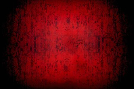 background of old dirty shabby red wall