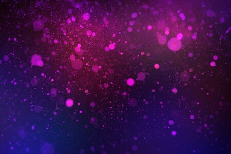 beautiful abstract purple and blue on a black background bokeh