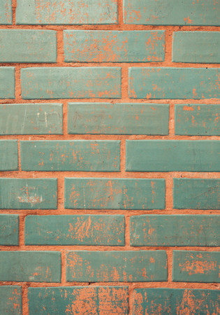 Background of colorful brick wall texture. brickwork Stock Photo