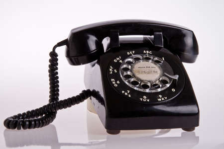 old phone: old telephone