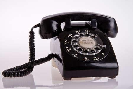 vintage foto: oude telefoon