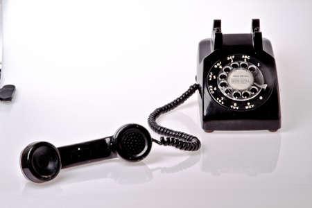 telephone: old fashion telephone Editorial