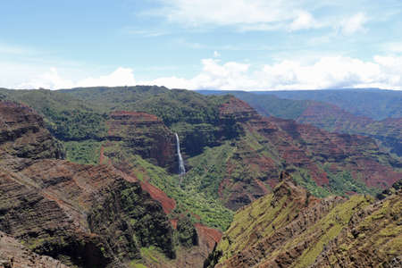 Hiking in Waimea Canyon on Kauai