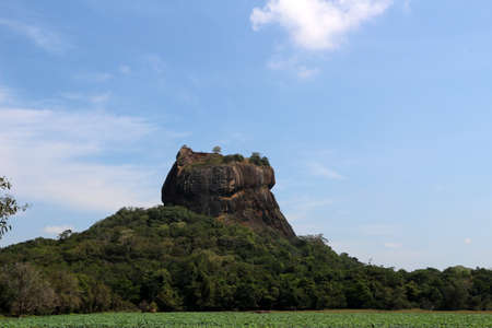 The Lion Rock on Sri Lanka    Site