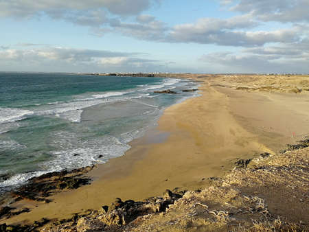 Fuerteventura Beach El Cotillo Spain Canary Islands