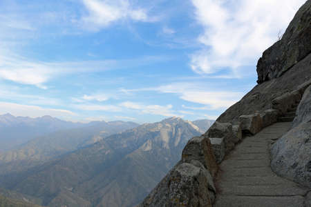 Climb to Moro Rock in Sequoia National Park