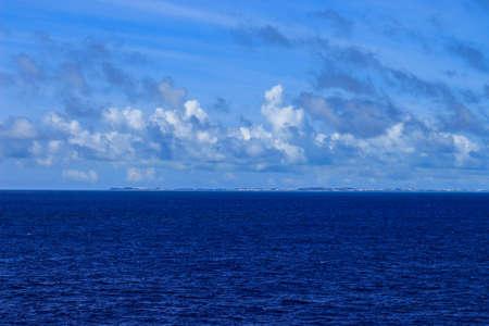 Beautiful blue ocean