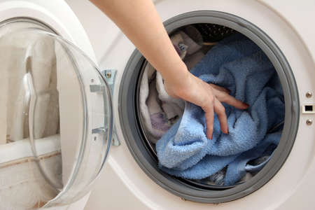 revolve: Preparation for washing in the machine