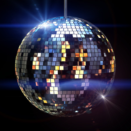 logo music: Disko ball