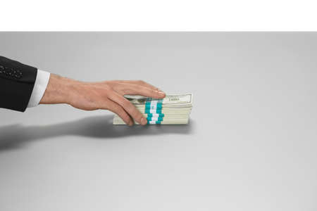 sees: Hand taking cash. When nobody sees. Take whats yours. Passion of a lifetime. Stock Photo