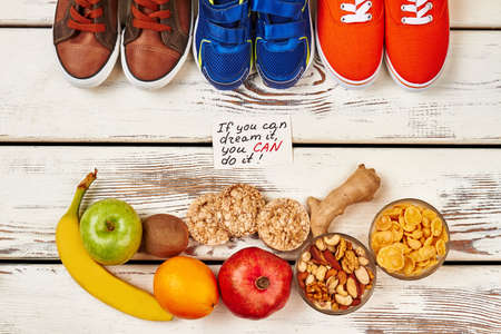 ration: Natural food and sport footwear. Your healthy choice.