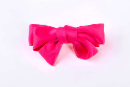 Beautiful accessory for girls hair isolated on white background. Kids elegant hair accessory.
