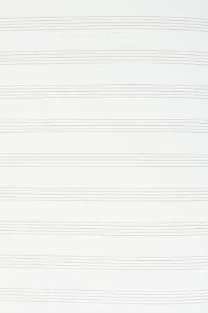 Musical notes paper background. Music notation paper sheet, vertical image. Sheet music for musical notes background.