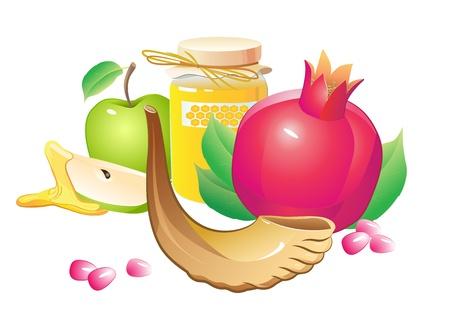 shofar: rosso, nuovo, gioia, colpo, Rosh, pregare, carta, corno, cibo, anno, miele, dolce, suono, mela, frutta, benedire, foglie, auguri, autunno, ebreo, shofar, legno, cultura, ebraismo, isolato, saluto, festivi, delizioso, tradizione, fondo, celebrazione, composizione,
