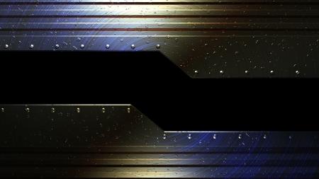 rend: technical machine metal background