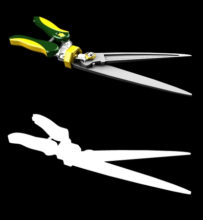 trimmers: Garden Hedge Trimmers scissors for plant with mask channel
