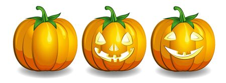 haloween: decorative haloween celebrate background with magic pumpkin  Illustration