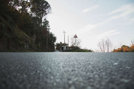 long: long road Stock Photo