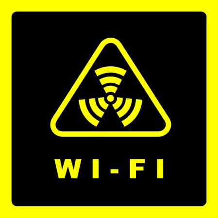 transducer: Sign of the irradiation zone coverage similar to wifi zone.