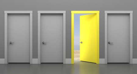 3d illustration of the Door into Summer