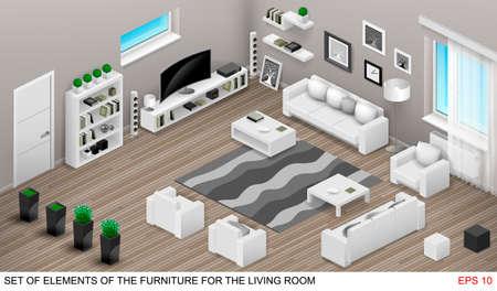 dvd room: Isometrics of the living