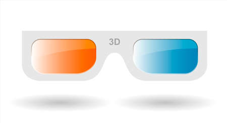 3d glasses from cardboard