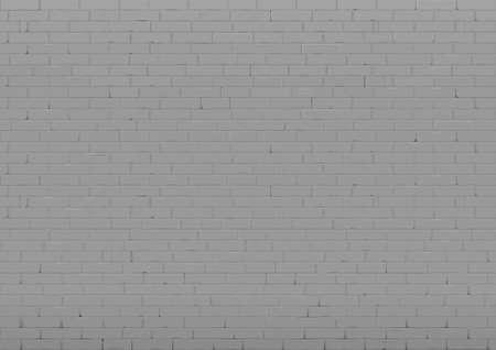 Background with an old black brick wall. Interior in loft style. Vector graphics