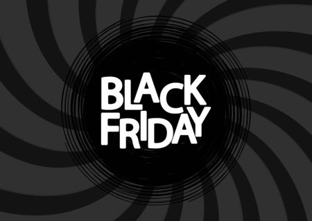 Black Friday, Sale poster design template, final offer, vector illustration Stock fotó - 129514793