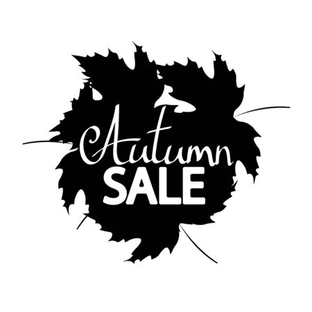 Autumn Sale, banner design template, discount tag, Fall offer, app icon, vector illustration