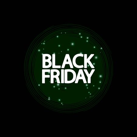 Black Friday, Sale poster design template, final offer, vector illustration