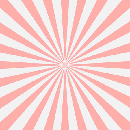 Radial background, poster design template, classic banner, vector illustration Vecteurs