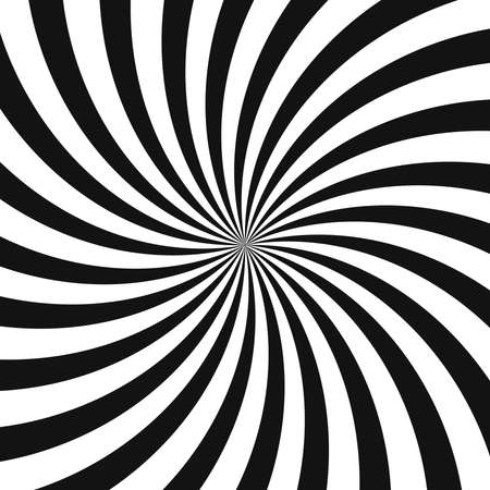 Swirl background, poster design template, vector illustration