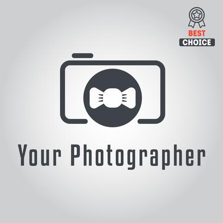 fashion photography: Logo or logotype elements for photograph and studio Illustration