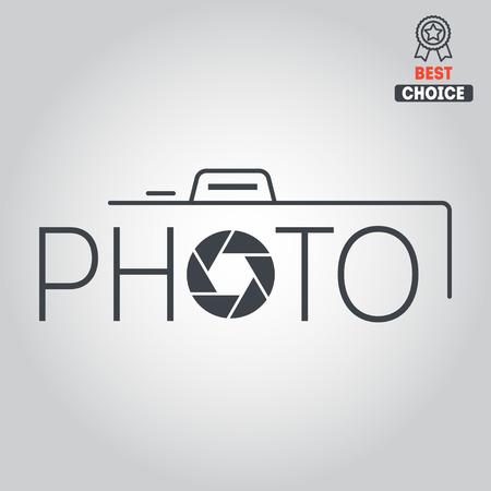 Embleem of logo elementen voor foto en studio