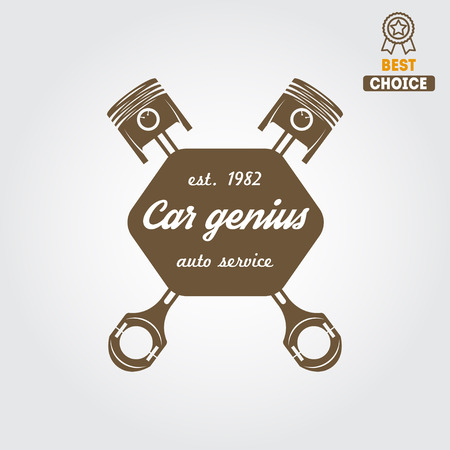 element for mechanic, garage, car repair and auto service Vector
