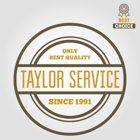 taylor: Vintage logo or logotype elements for taylor