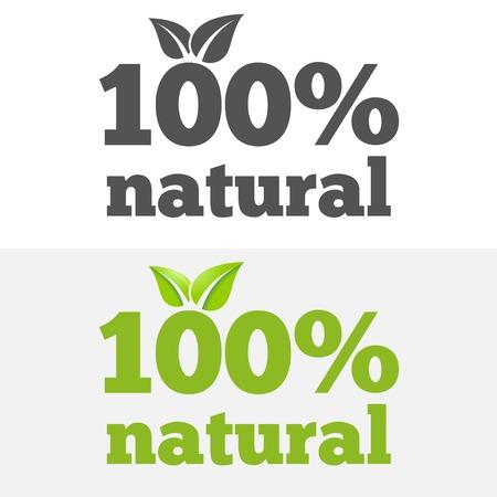 productos naturales: Logo o logotipo elementos con hojas para web, negocio o productos naturales