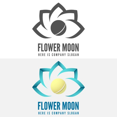 network logo: Logo and logotype elements for web, business corporate identity and other design Illustration