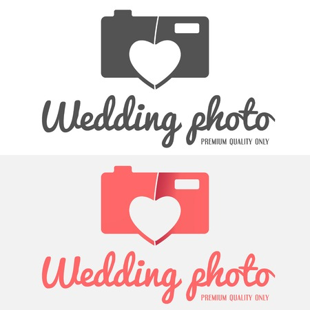 fashion photography: Set of vintage and modern logo and logotype elements