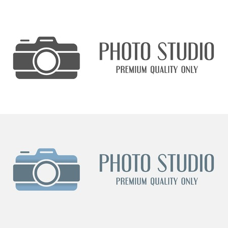 studios: Set of vintage and modern logo and logotype elements