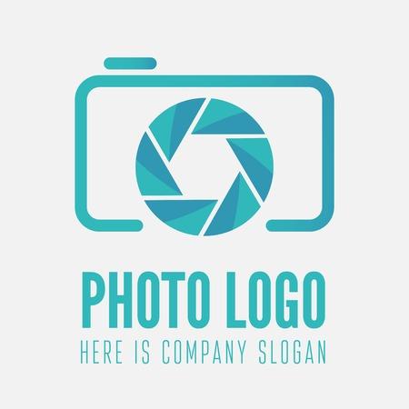 写真スタジオや写真家のためのロゴやロゴタイプの要素