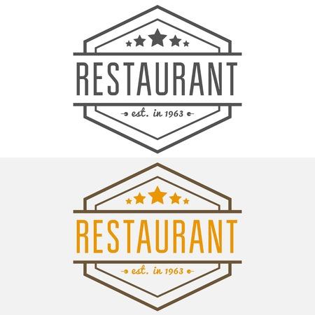 elements for restaurant, cafe, cafeteria, bar or company Illustration