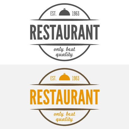 cafeteria: elements for restaurant, cafe, cafeteria, bar or company Illustration