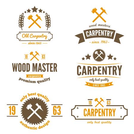 carpintero: elementos para el aserradero, carpinter�a y trabajadores de la madera