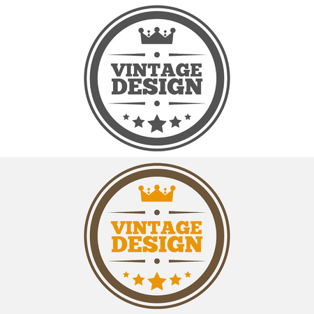 business sign: Vintage Insignia or  Vector design element, business sign template