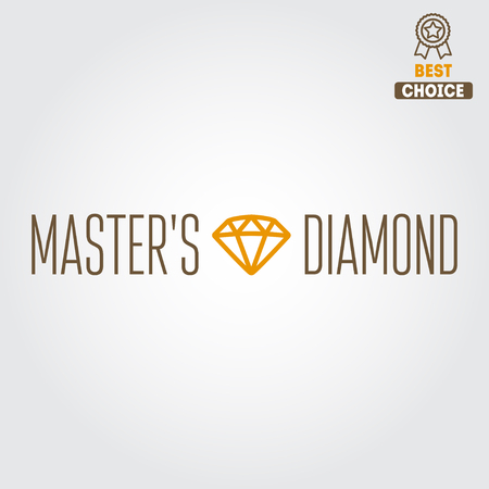king master: Logo, label or logotype elements for jewelry