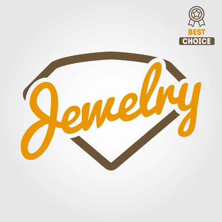 Logo, label or logotype elements for jewelry
