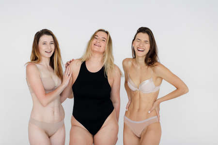 success, diversity, beauty, body positive and people concept