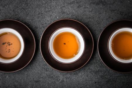 Tasse Tee für die Teezeremonie horizontal